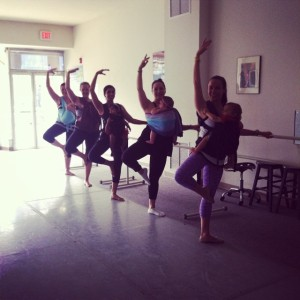 babywearing ballet